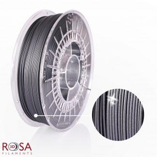 PLA Starter Glitter Graphite ROSA3D